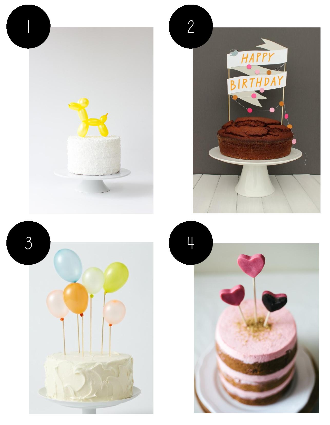 Animal Cake Topper For Cake