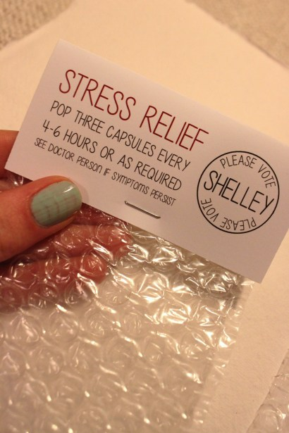 Stress Relief Bubble Wrap