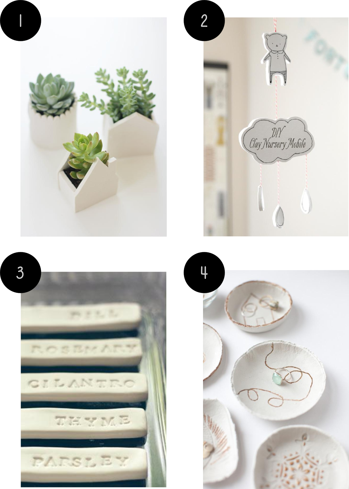 Inspiration Clay Craft Diy Projects Shelley Makes