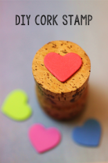 Heart Cork Stamp