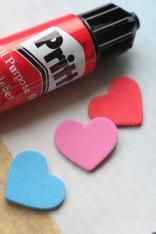 Pritt Hearts