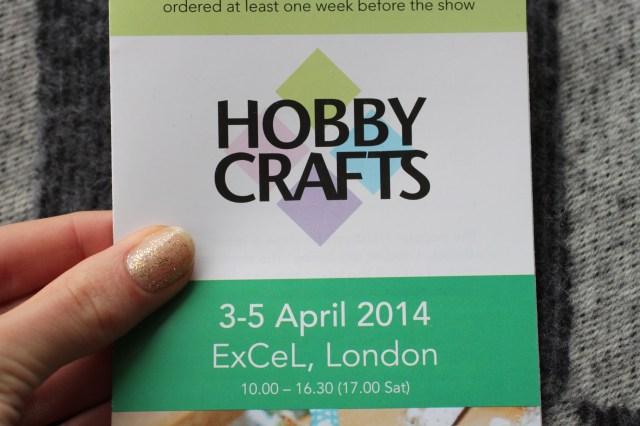 Hobbycrafts ticket