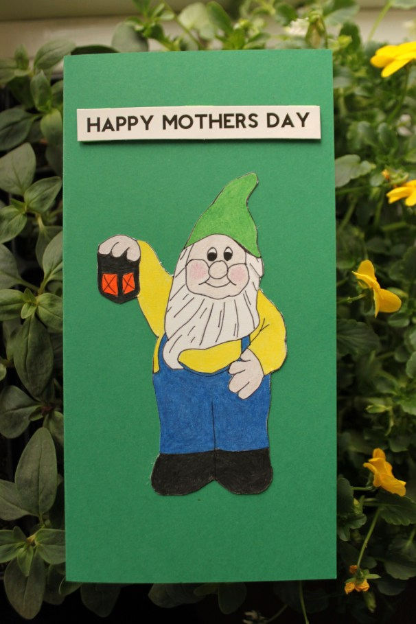 Gnome Mother's Day Card