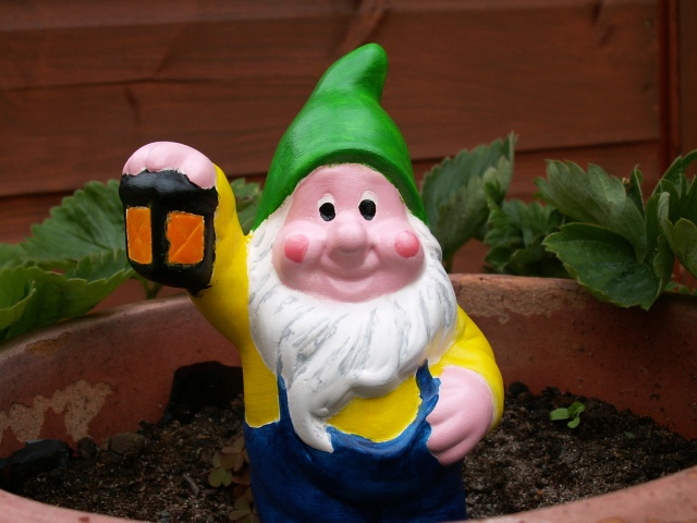 Roger the Painted Gnome