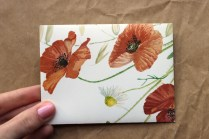 Poppy Upcycled Envelope