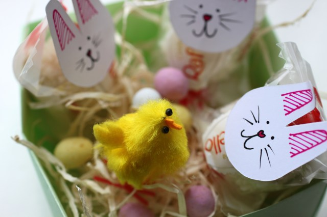 Easter bunny hamper