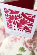 Christening Paper-Cut Card