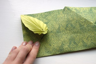 Easy origami card | Shelley Makes