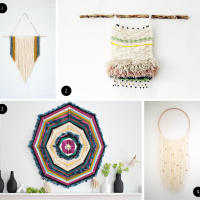 Inspiration: DIY Wall Hanging