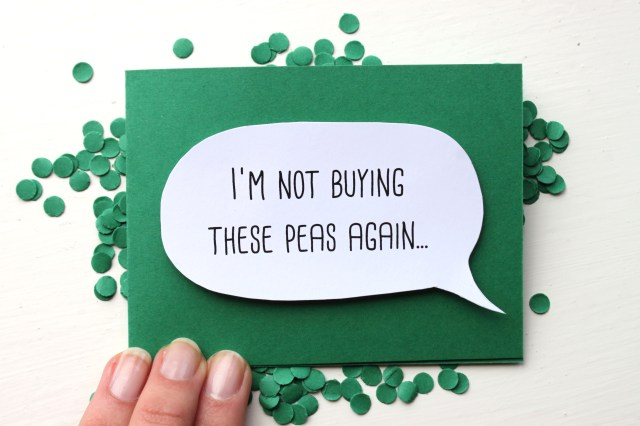 Pea Card