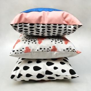 Ink Bandit cushions
