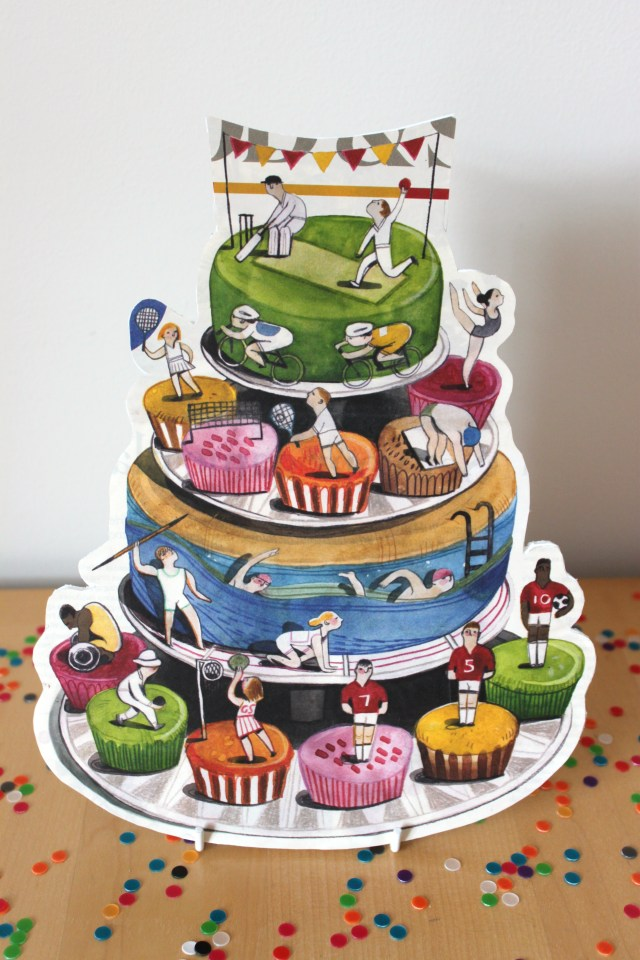 Birthday Cake Stand