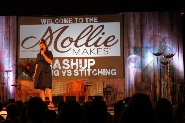 Kirstie at Mollie Makes Mash-Up