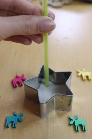 Using straw
