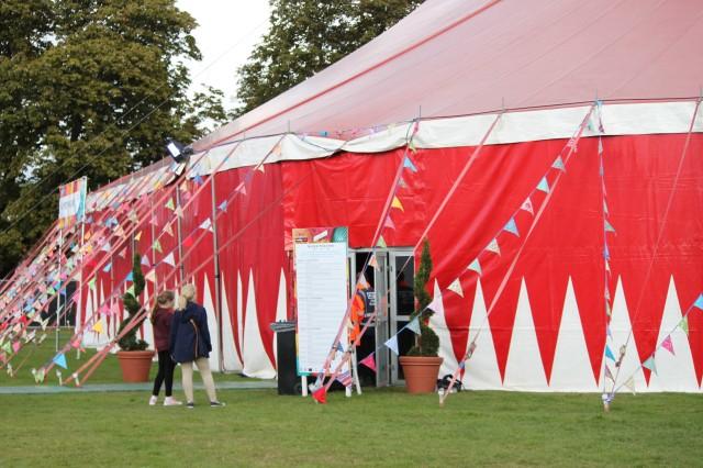 Super Theatre tent