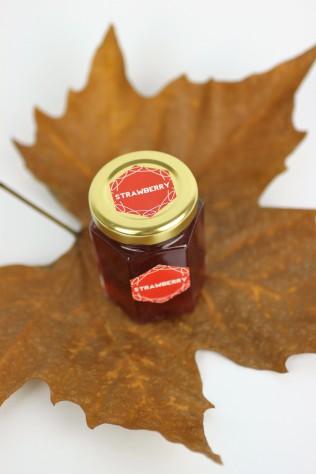 Homemade Strawberry Jam | Shelley Makes