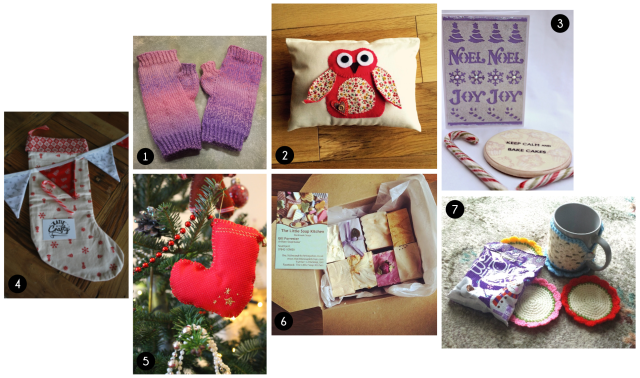 #CraftBlogClub Secret Santa Presents