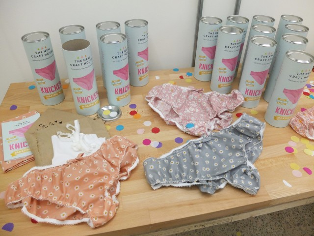 NCH knicker making kits