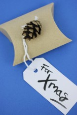 Festive 'For Xmas' Gift Pouch | Shelley Makes
