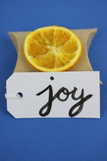 'Joy' Christmas Gift Wrap | Shelley Makes