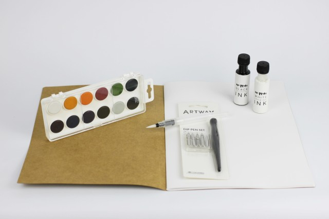 We Make Collective calligraphy kit