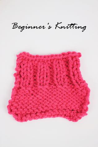 Shelley Makes Beginner's Knitting