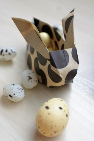 DIY Origami Easter Bunny - Shelley Makes (15)