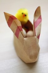 DIY Origami Easter Bunny - Shelley Makes (25)