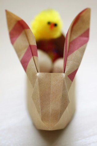 DIY Origami Easter Bunny - Shelley Makes (33)