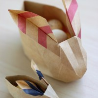 Easy DIY Origami Easter Bunnies