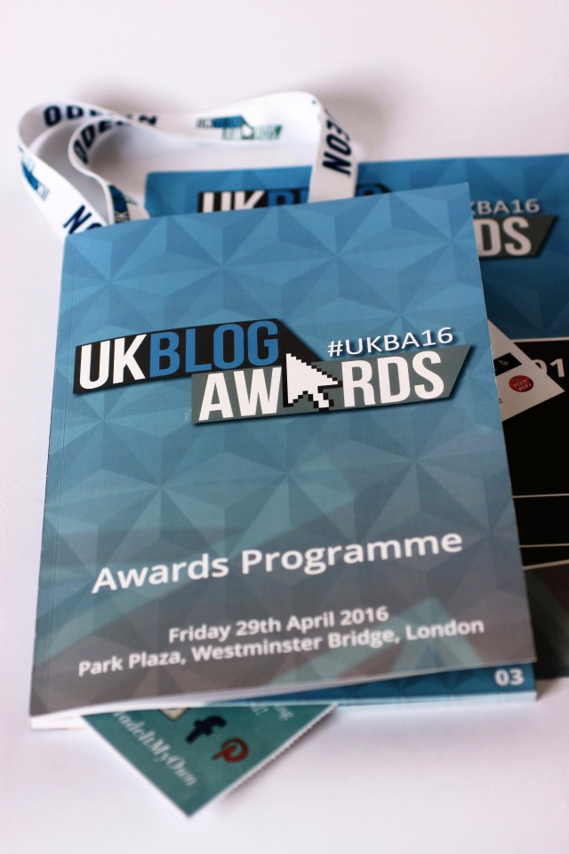 UK Blog Awards Shelley Makes Programme