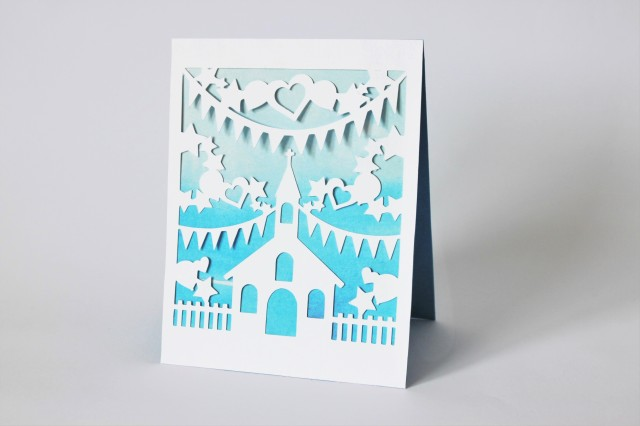 DIY Paper-Cut Christening Card (10) - Copy