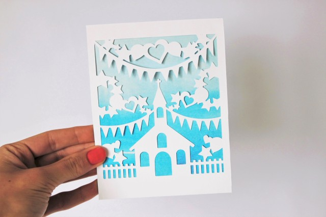 DIY Paper-Cut Christening Card (7) - Copy