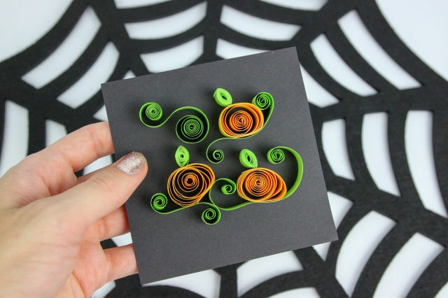 DIY Quilling Halloween Pumpkinsl_Shelley Makes-9210